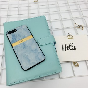 Etui Morski Marmur iPhone XR