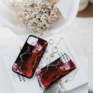 Etui Burgund iPhone 7 Plus / 8 Plus