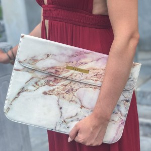 "Laptop case 15"" Colorful Marble"
