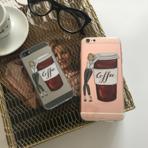 Case coffee time girls Iphone Xs max