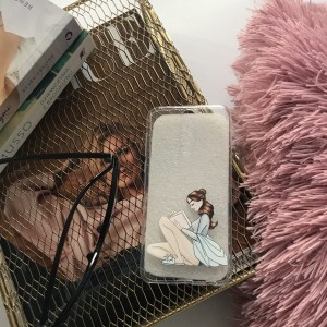 Case Brunette girls Huawei P20 lite