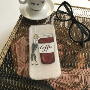 Case Coffee time girls Huawei P20 lite