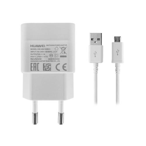 ORYGINALNY KABEL MICRO USB + ŁADOWARKA DO HUAWEI